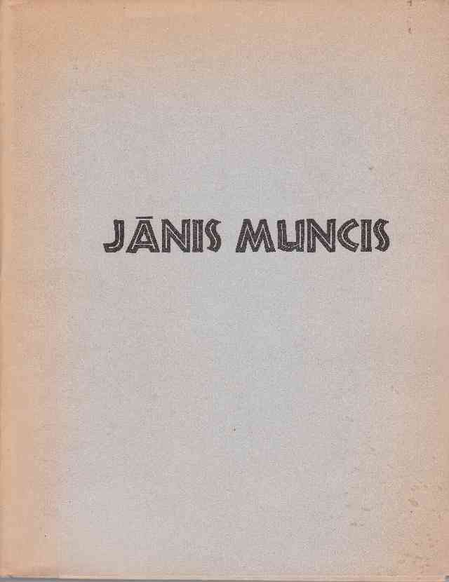 Image for Janis Muncis