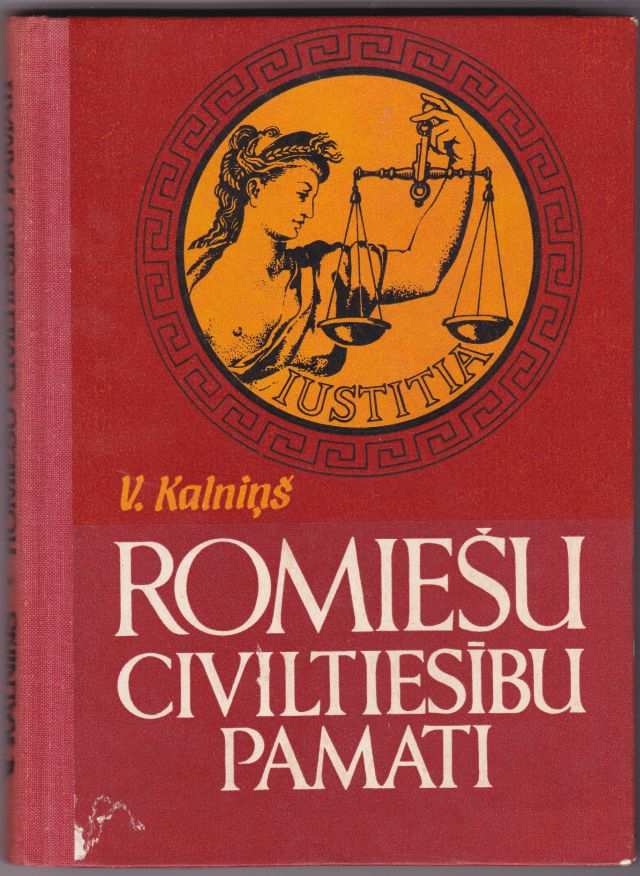 Image for Romiesu Civiltiesibu Pamati
