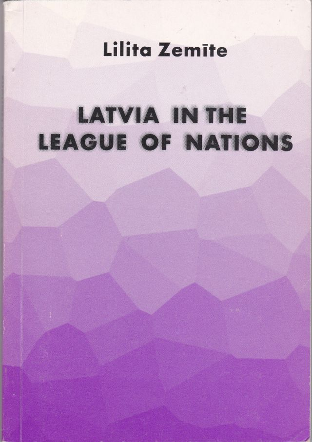 Image for Latvia in the League of Nations