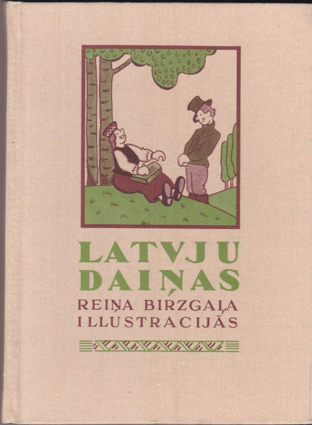 Image for Latvju Dainas Reina Birzgala Illustracijas