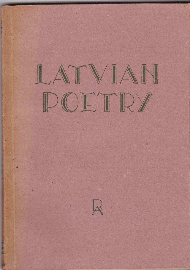 Image for Latvian Poetry