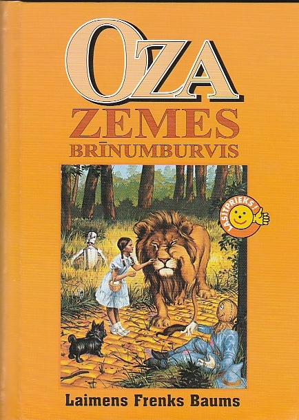 Image for Oza Zemes Brinumburvis ( The Wizard Of Oz)