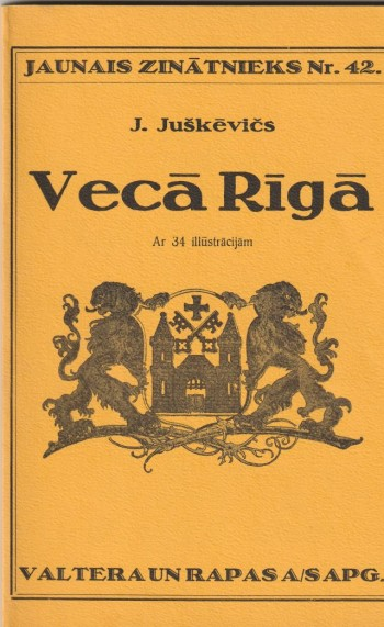 Image for Veca Riga Ar 34 Illustracijam