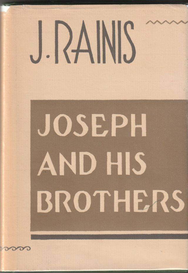 Image for Joseph and His Brothers  Translated By Grace Rhys