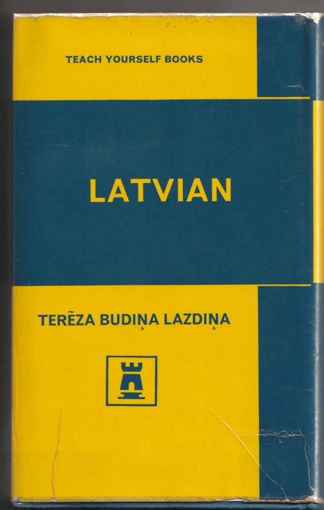 Image for Teach Yourself Latvian