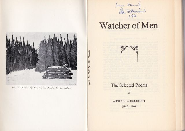 Image for Watcher of Men   The Selected Poems  (1947-1966)