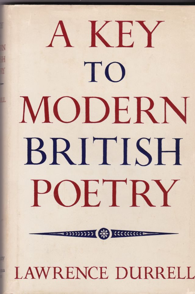 Image for A Key to Modern British Poetry