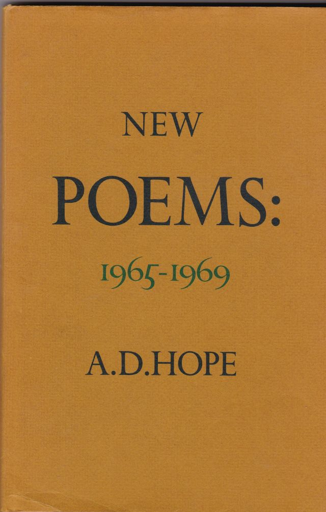 Image for New Poems: 1965 - 1969