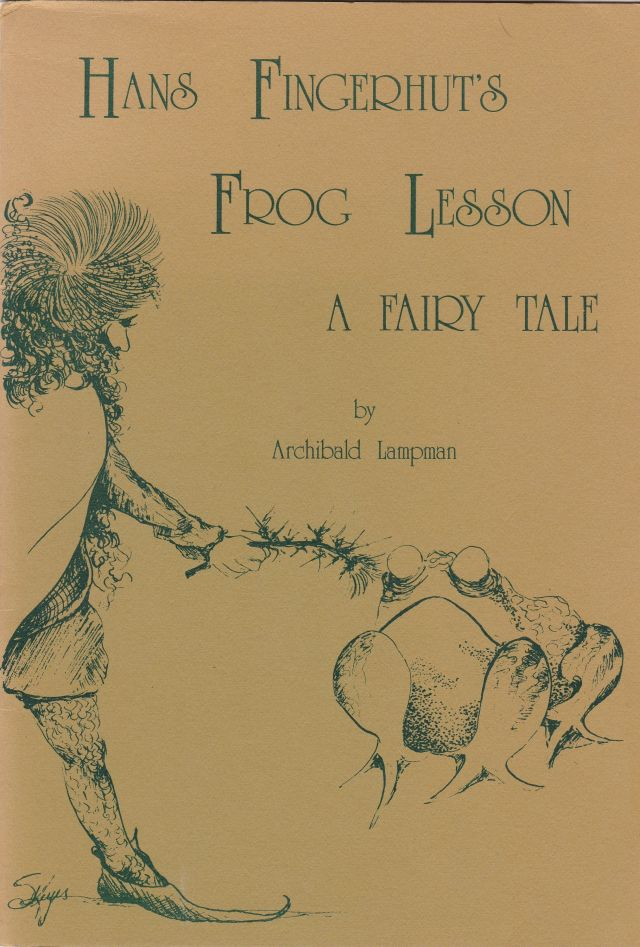 Image for Hans Fingerhut's Frog Lesson A Fairy Tale