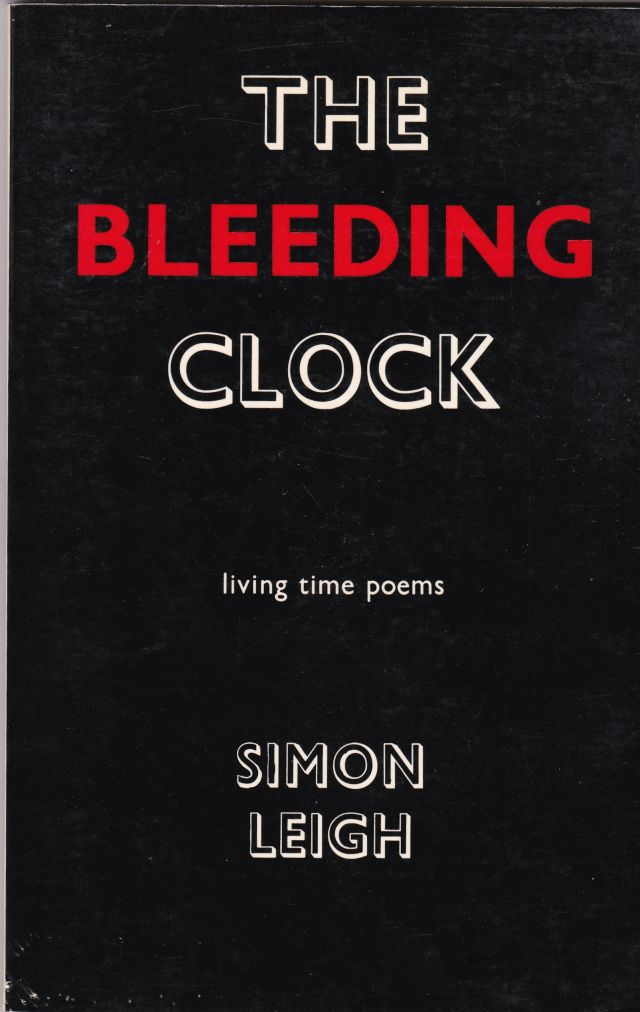 Image for The Bleeding Clock   Living Time Poems