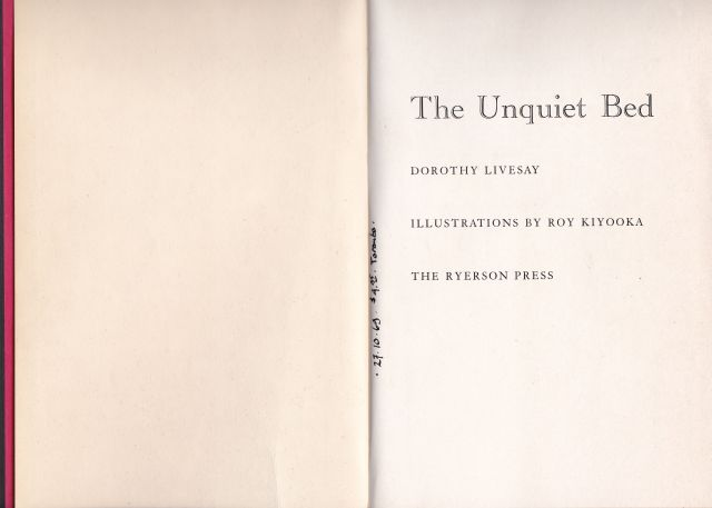 Image for The Unquiet Bed